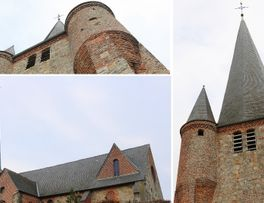 Clocher tordu < Fontaine-les-vervins < Thiérache < Aisne < Hauts-de-France - Photo