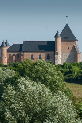 Eglise Fortifiée de Beaurain < Vue < Flavigny le Grand et Beaurain < Aisne < Picardie  -