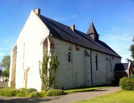 Eglise fortifiée de Clermont-les-Fermes < Thiérache < Aisne < Picardie -