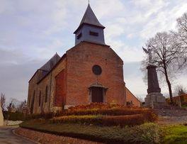 Eglise fortifiée < Ohis < Aisne < Picardie  -
