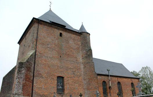 Eglise fortifiée de Saint-Algis < Thiérache < Aisne < Picardie -