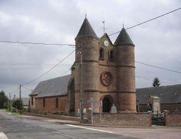 Eglise de Monceau sur Oise < Thierache < Aisne < Picardie -