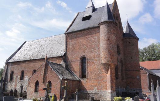 Eglise fortifiée Malzy< Thierache< Aisne< Picardie -