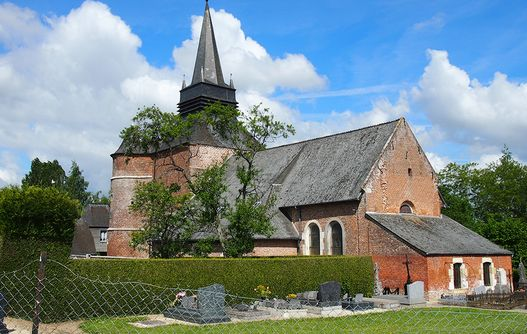 L'église Saint Médard -