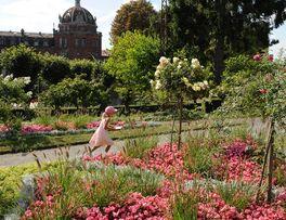 Jardin d'agrément du Familistère de Guise -