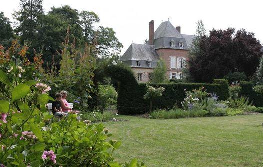 Jardins du Château < Puisieux et Clanlieu < Aisne < Picardie -
