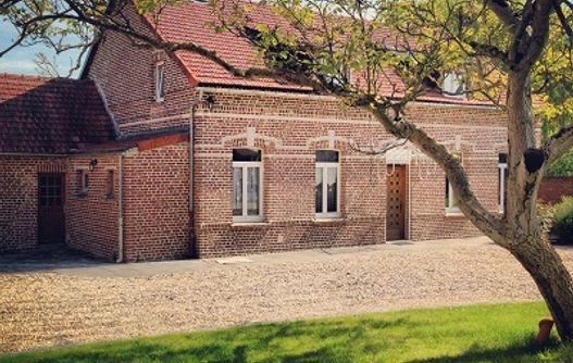 Le Gîte du Joli Mai ext < Vaux Andigny < Aisne -