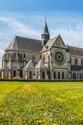 Site abbatial de Saint Michel en Thiérache -