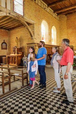 Visites d'été < Eglise de Parfondeval < Parfondeval < Thiérache < Aisne  picardie -