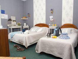Hôtel le clos du Montvinage une chambre luxe au premier étage -