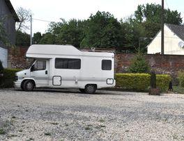 Aire de camping car le Jardin de la Campagne < Thenailles -