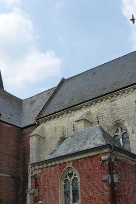 Eglise fortifiée < Burelles < Aisne < Picardie -