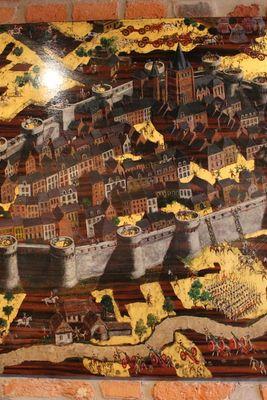 Les fortifications de Vervins datant du 12e siècle -