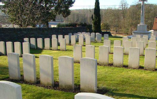Cimetière britannique de Montcornet < Guerre 14-18 < WWI < Aisne < Picardie < France -