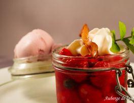 Soupe de fruit < Auberge de la Brune < Burelles < Thiérache < Aisne < Picardie < Hauts de France -