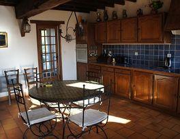 Gîte du Jardin Cuisine < Puisieux et Clanlieu < Aisne < Picardie -