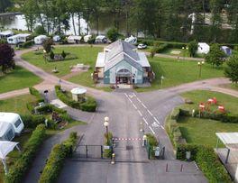 Camping municipal le Lac de Condé_entrée<Le Nouvion-en-Thiérache<Aisne<Picard -